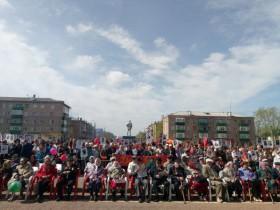 72-ая годовщина Победы в Великой Отечественной войне                            в р.п. Приютово