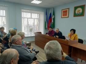 Приютовцы встретились с начальником отдела МВД России  по Белебеевскому району