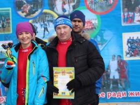 Прошли лыжные гонки